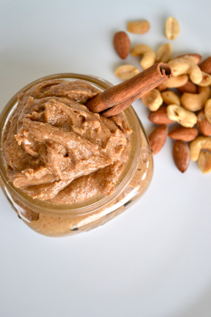 Maple Cinnamon 3 Nut Butter