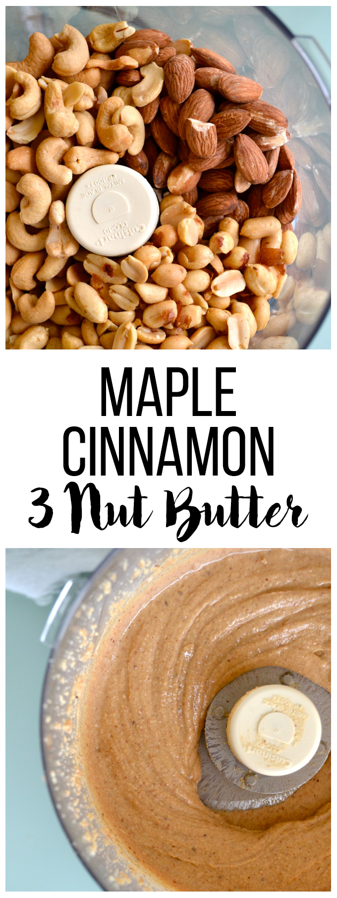 This Maple Cinnamon 3 Nut Butter is the paleo and filled for real food flavor!