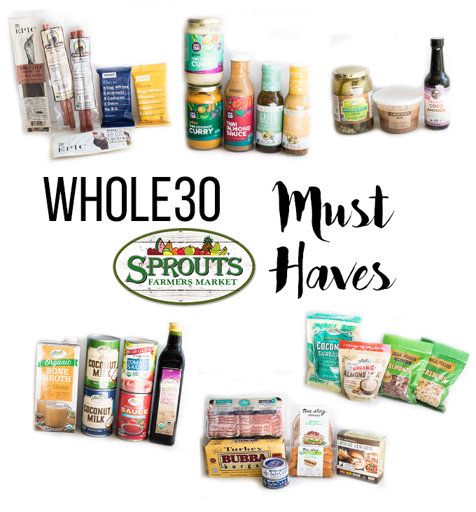 This Whole30 Sprouts Must Haves list is just what you need for Whole30 success. Everything from condiments to pantry staples!