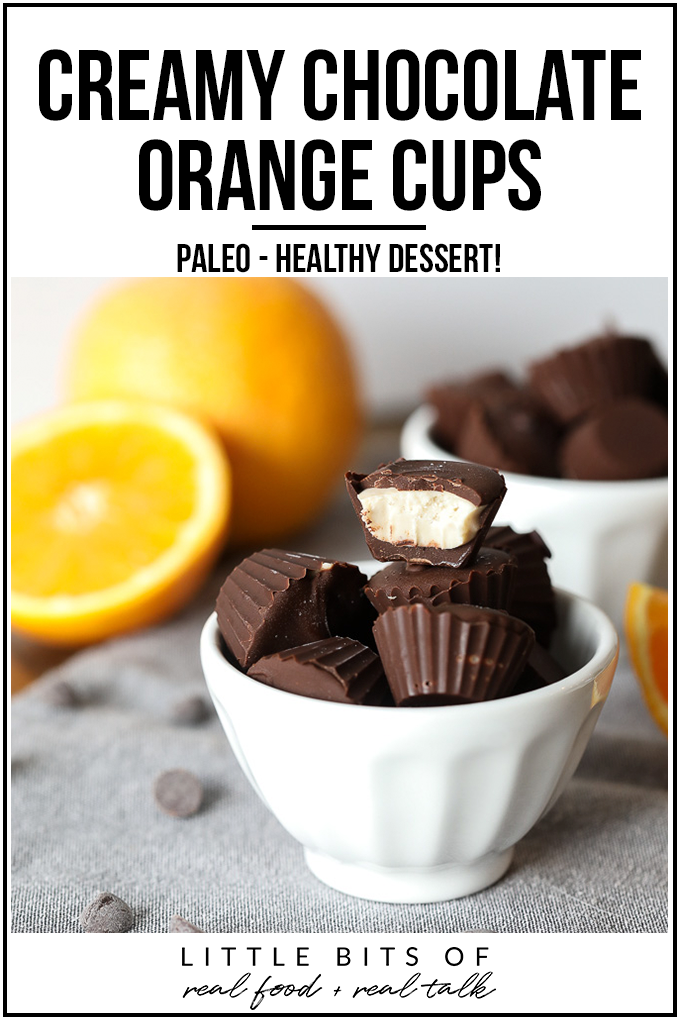 These Cream Chocolate Orange Cups are so delicious and perfect for a sweet snack that is also paleo!