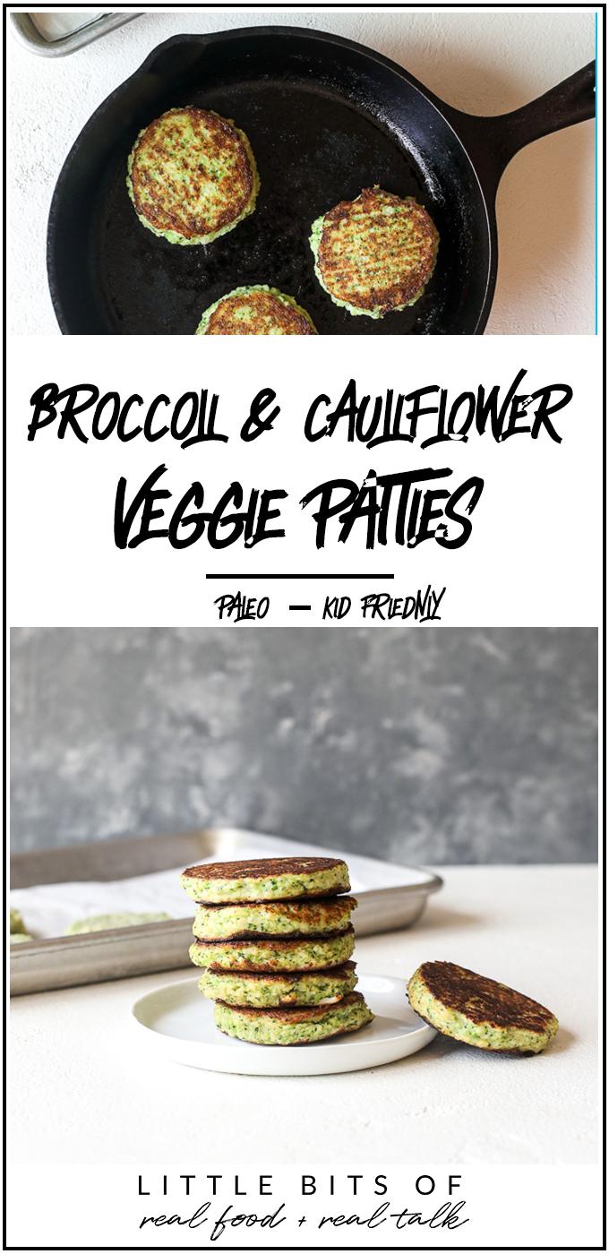 These Broccoli & Cauliflower Veggie Patties are just like the trader joe's version and kids love them!