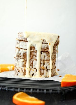 This Orange Clove Almond Flour Loaf Cake is packed with flavor and so delicious! It is grain free and dairy free, perfect for the whole family!