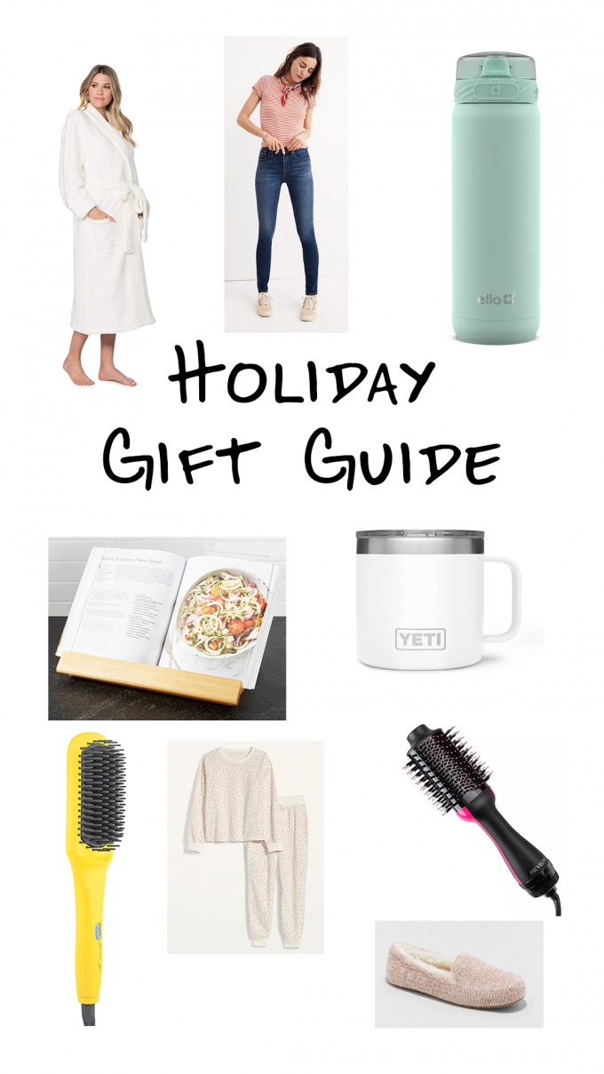 A gift guide of all of my favorite things!